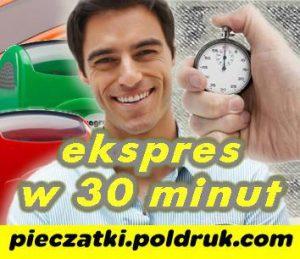 Pieczątki Ekspres 30 minut Katowice